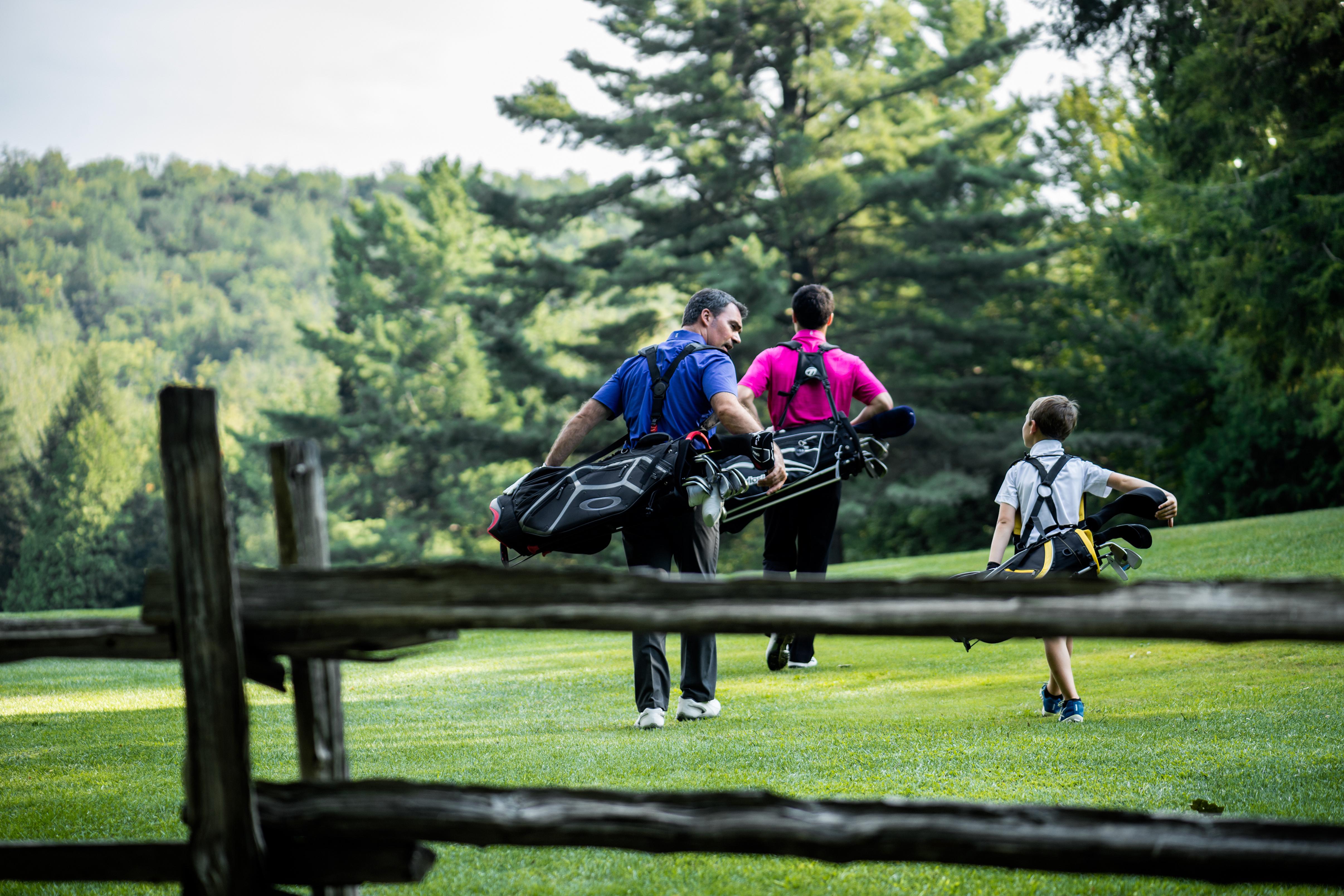Golf en famille